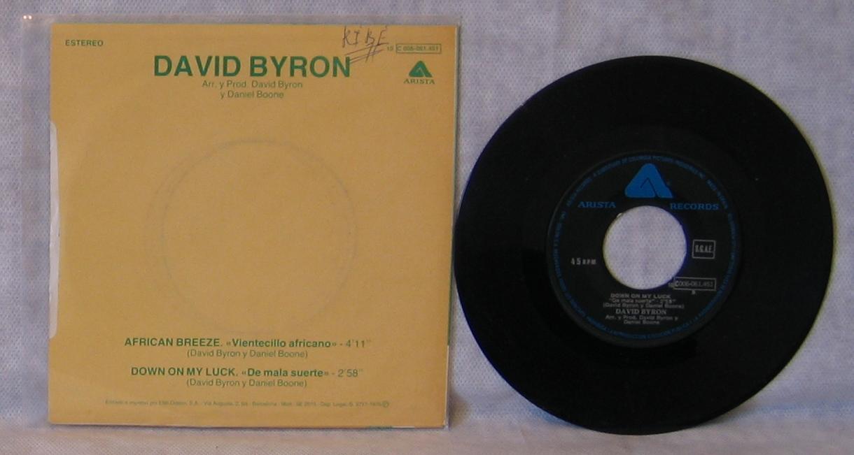 David Byron - Vientecillo Africano